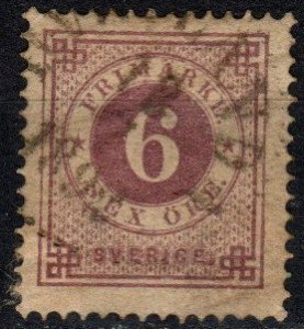 Sweden #44  F-VF Used CV $62.50 (X5359)