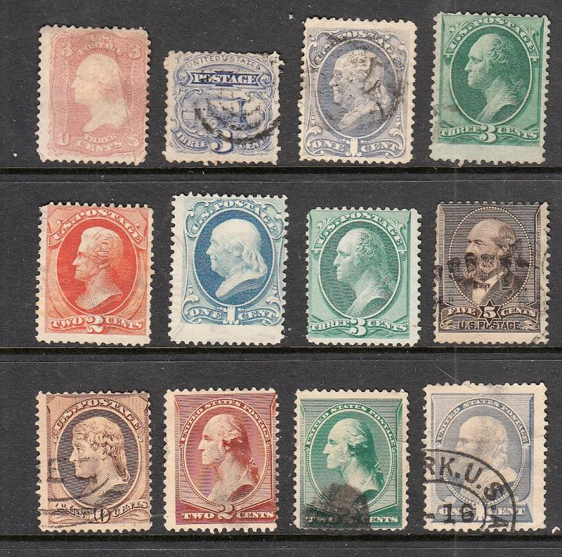 US 19TH CENTURY BANKNOTE STAMPS