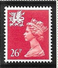 Great Britain-Wales & Monmouthshire # WMMH48 (MNH) $4.25