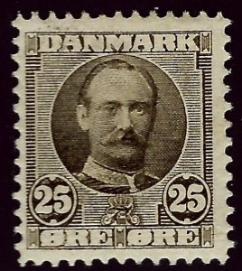 Denmark #75 Mint F-VF. hr SCV$35.00.. Popular Country!
