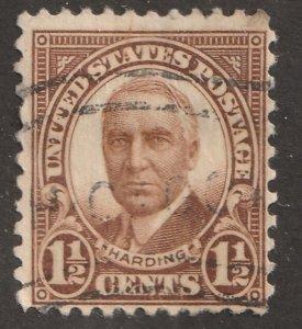 USA stamp, Scott# 684 used, hinged, single stamp, #x-66
