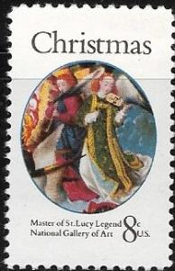 Scott 1471, 8 cents, MNH, Christmas Angel, SCV 0.50, 1971