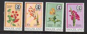 SWAZILAND - 1971 - FLOWERS -
