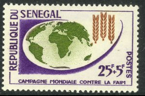 SENEGAL 1963 FAO Freedom From Hunger Semi Postal Sc B17 MNH