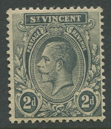 STAMP STATION PERTH St.Vincent #121 KGV Definitive  MLH CV$3.00