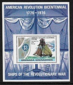 Grenada, Grenadines #181 MNH S/Sheet - American Bicentennial