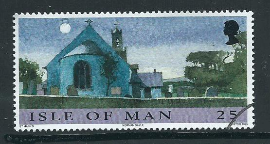 Isle of Man VFU  SG 858