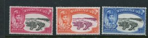 Brunei #76-8 Mint