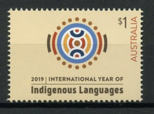 Australia Stamps 2019 MNH UNESCO Intl Year Indigenous Languages Cultures 1v Set