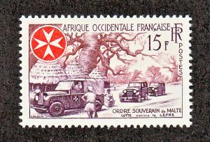 French West Africa Scott #74 MH