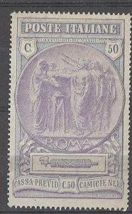 COLLECTION LOT # 4989 ITALY #B18 MH 1923 CV+$32