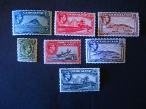 Gibraltar #107-11 Mint Hinged - (AZ3) WDWPhilatelic!