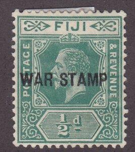 Fiji MR1 War Tax Stamp 1916