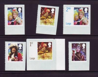 Great Britain Sc 2608-13 2008 Christmas stamp set mint NH