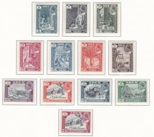 ADEN  HADHRAMAUT    1963    S G  41 - 52            SET OF 12      MNH
