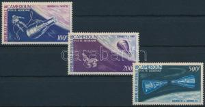 Cameroon stamp Space research 3 stamps 1966 MNH Mi 450-452 WS217155