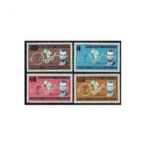 Togo 454-456,C35,MNH.Michel 373-376. Emancipation of American slaves,100.Lincoln