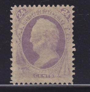 153 F-VF original gum hinged with rich color cv $ 2250 ! see pic !