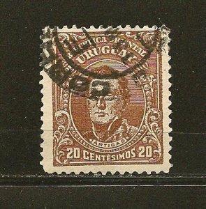 Uruguay 192 Artigas Used