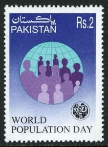 Pakistan 873, MNH. World Population Day, 1997