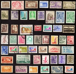 50 All Different  SYRIA Stamps