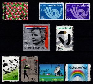 Netherlands 1973 Various Issue Sets [Used]