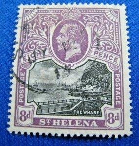 SAINT HELENA 1912  -  SCOTT # 67  -   USED  (Hs16)