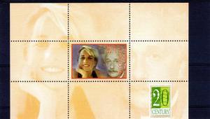 Kyrgyzstan -Diana & Einstein-Judaica-Royalty SS perf.MNH VF