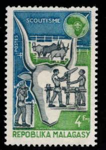 Madagascar Malagasy Scott 504 MNH** Scout stamp