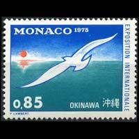 MONACO 1975 - Scott# 971 Oceanexpo Set of 1 NH