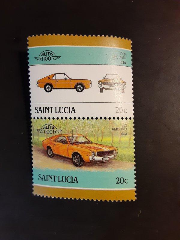 ^St. Lucia #850                MH