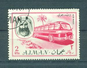 Ajman sc unlisted 1967 bus used cat value $1.00