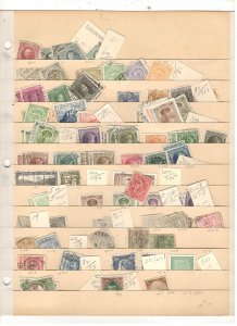 LUXEMBOURG COLLECTION ON STOCK SHEET, MINT/USED