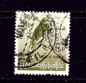 Burma 202 Used 1968 issue