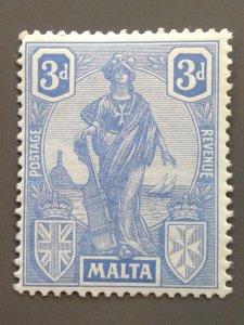 Malta 105 F-VF MLH. Scott $ 6.50