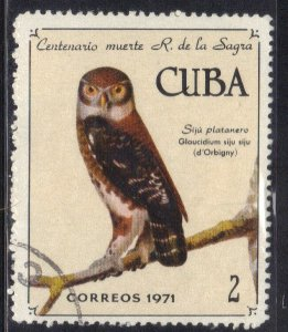 CUBA SC# 1660  **USED** 1971   2c   SEE SCAN