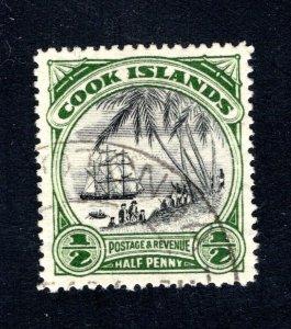 Cook Islands, Scott 91, VF, Used,  CV $5.25   ....... 1500050