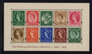 Great Britain Sc 2086 2002 Wilding Definitives stamp sheet mint NH