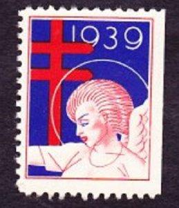 Christmas Seal from 1939 NG single