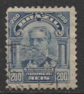 Brazil - Scott 178 - People Definitives Issue -1906 - Used - Single 200r Stamp