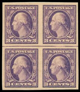 momen: US Stamps #484 Mint OG NH Block of 4 XF