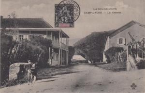 Guadeloupe 1c Navigation and Commerce 1907 Basse Terre, Guadeloupe PPC (Camp ...