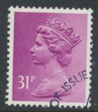 Great Britain SG X981 Sc# MH142    Used with first day cancel - Machin 31p