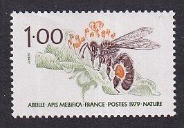 France   #1644   MNH  1979  honey bee