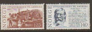 Norway #658-9 Mint