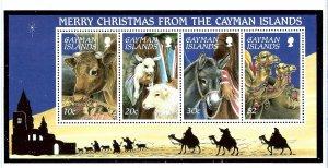 Cayman Is 713a MNH 1995 Christmas  S/S