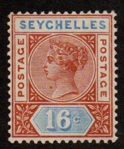 Seychelles 12a Mint Hinged (Die II)