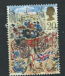 GB QE  II  SG 1457 Fine Used