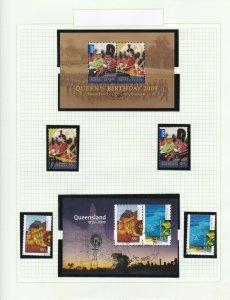 AD642) 2009 Queens Birthday, Queensland 150 years,