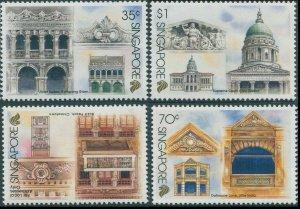 Singapore 1996 SG822-825 Architectural Conservation set MNH